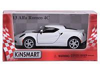 Коллекционная машина KT 5336W  Alfa Romeo 4s