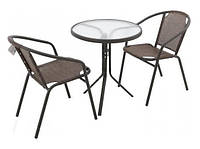 Комплект стол и 2 стула EMMA