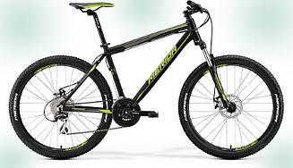 Велосипед Merida Matts 6.20-MD (2017) MATT BLACK (GREEN)