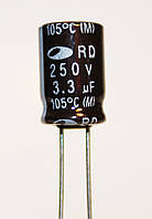 3,3mkf - 250v (105°C)  8*11,5  SAMWHA