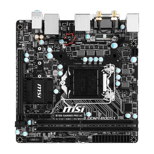 "Материнская плата MSI B150I GAMING PRO AC s.1151 DDR4 ""Over-Stock"" Б/У"