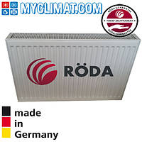 Радиатор стальной Roda 22 тип 500x1100 (1617 Bт)