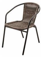Стул кресло искусственный ротанг