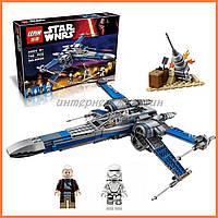 """Конструктор Lepin 05029 (аналог Лего) Star Wars """"Истребитель X-Wing"""""""