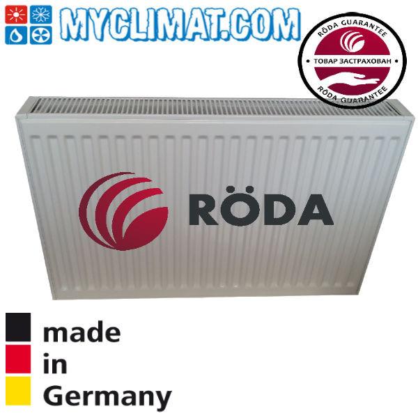 Радиатор стальной Roda 22 тип 500x2200 (3234 Bт)
