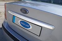 Накладка на крышку багажника Ford Focus 2 2008+ (SEDAN)