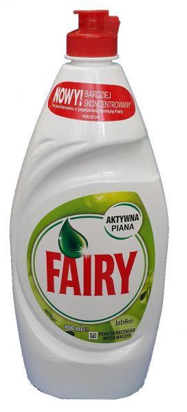 Средство для мытья посуды Fairy яблоко 900мл.