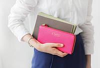 """Клатч женский кошелёк """"La chance"""" цвет бледно-розовый, фото 1"""