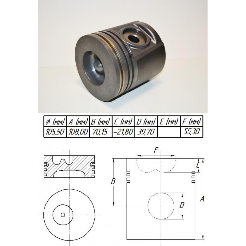 288-1394 Поршень +0,50 мм на Caterpillar 3054C