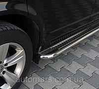 Renault Traffic Боковые площадки (premium class) (нерж.)