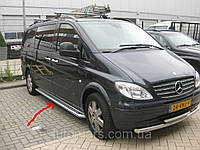 Боковые площадки (Premium) Mercedes Vito W639