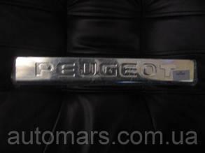 Carmos Peugeot Partner Накладки на пороги (нерж.)