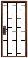 Двери тамбурные одностворчатые 800, 2000, R-правая, Ral - 7035 (серый), нет