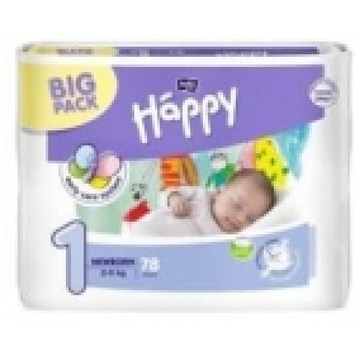 Подгузники «Bella Happy 1» NewBorn (2-5 кг) 78шт (памперсы Белла ... 594550c162c