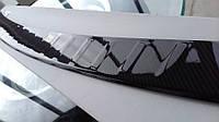 Накладка на задний бампер BMW X5 F15 карбон