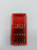 Развертки LARGO  № 1-6     (6 шт.)  L 32 мм.