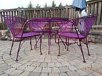 Полимерная покраска металлических столов, стульев