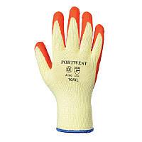Перчатки A100 с рельефным латексным покрытием