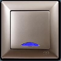 Gunsan Visage Золото Выключатель с подсветкой
