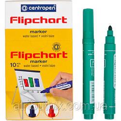 Маркер 8550 FLIPCHART (2,5мм) зеленый