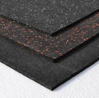 Гумове покриття для спортзалу 10мм 1 лист