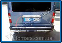 Накладка на задний бампер Ford Connect (2002+)