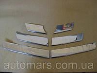 Накладки на переднюю решетку Dacia Sandero (2007+)