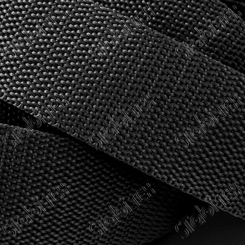 Лента ременная (стропа) 20мм чёрная(100м)