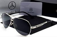 Очки для вождения Mercedes Benz от Polaroid серебро