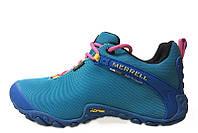 Кроссовки женские Merrell Continuum Goretex Blue (Меррел) синие