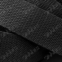 Лента ременная (стропа) 50мм чёрная(100м), фото 1