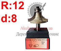 R12 d8 Фреза AКУЛА pobedit кромочная калевочная
