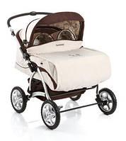 Детская коляска- трансформер для двойни Geoby