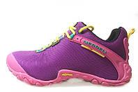 Кроссовки женские Merrell Continuum Goretex Purple Pink (Меррел) фиолетовые