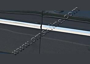 Хром накладки на молдинг дверной Skoda Octavia A5 (4 штуки)