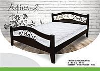 Ліжко дерев'яне букове Афіна 2