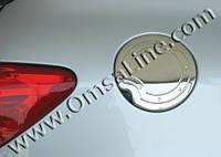 Накладка на лючок бензобака Peugeot 307 (нерж.)