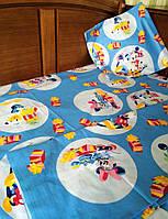 Детский комплект постельного белья в кроватку Минни