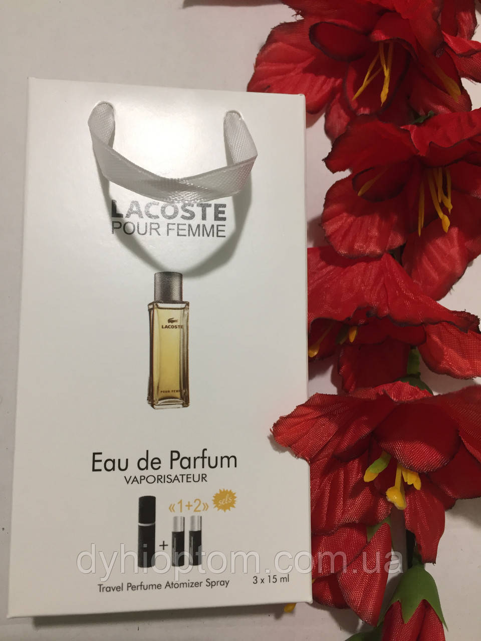 Набор женского аромата Lacoste Femme Woman 45ml