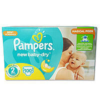Подгузники Pampers Active Baby-Dry Midi 2 (3-6 кг) 100 шт