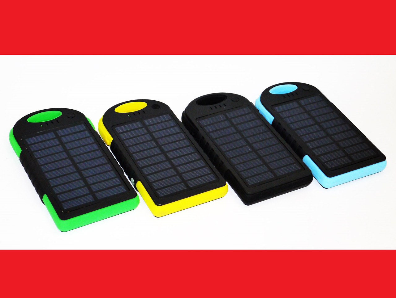 Солнечное зарядное устройство Power Bank 45000 mAh + LED фонарик