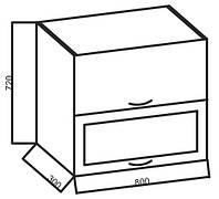 Верхние модули к кухне «Розмарин », 80 ВВ+Гл