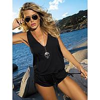 Женский пляжный комбинезон шорты Etna D-16