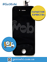 Дисплейный Модуль Iphone 4G black (Orig IC) дисплей + сенсор (touchscreen)