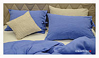 "Комплект из 100% льна ""Утро в Провансе, Blue"" 1.5, фото 1"