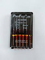 ПроФайлы (ProFile®) 0.6, 25 мм. размер 25, 6 шт.