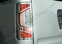 Накладки на стопы (Abs хром.) Ford Connect 2009+