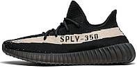Женские кроссовки Adidas Yeezy Boost 350 V2 Black/White