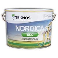 Краска для деревянных домов Нордика Эко