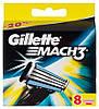 Gillette Mach3 8 шт. в упаковке сменные кассеты для бритья, оргинал, фото 4